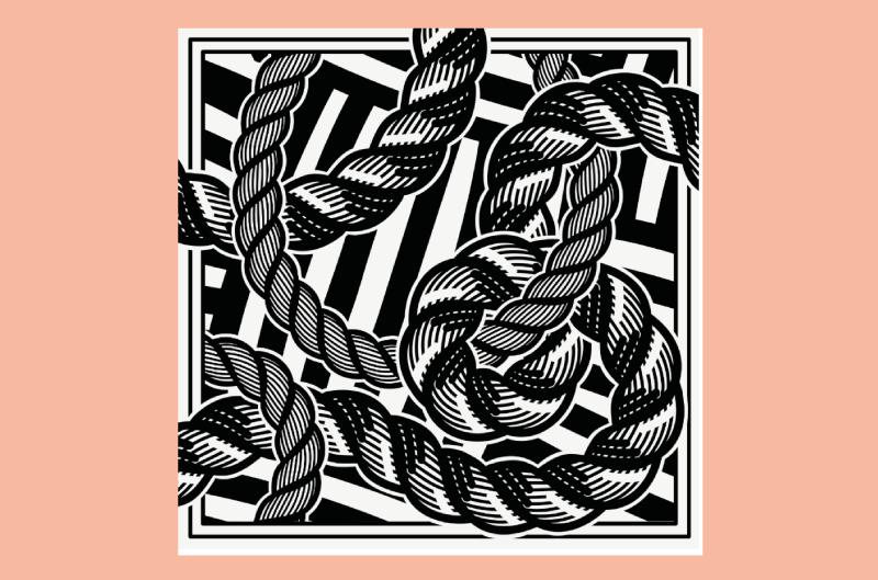 Encorde, textile illustration